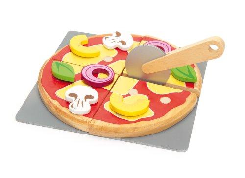 Le Toy Van Honeybake Pizza aus Holz Küche Pizza Cutter