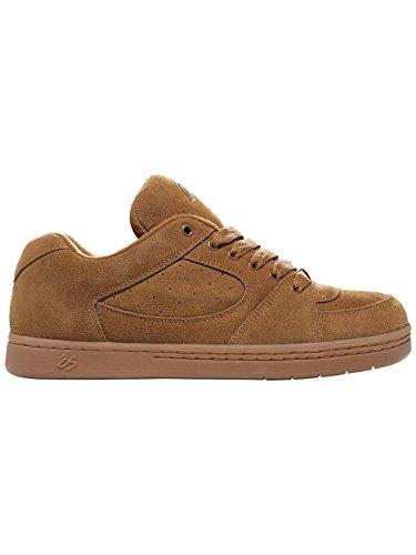 Es shoes - Accel og black - Chaussures skateboard marrone