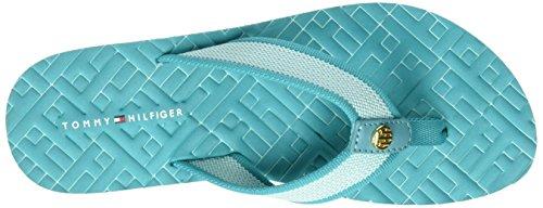 Tommy Hilfiger M1285ellie 9d, Tongs  Femme Bleu (Turkish Stone 330)