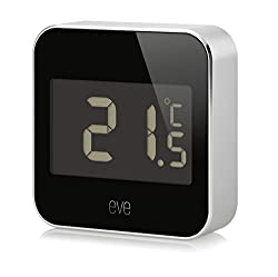 Elgato Eve Degree, Temperature & Humidity Monitor with Apple HomeKit technology, Bluetooth Low Energy