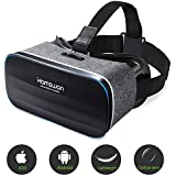 HAMSWAN VR Headset, Virtual Reality Headset, 3D Glasses, VR Goggles-for 3D VR Movies Video Games with 100 Degree FOV for iPhone X 8 7 6 plus, Samsung S6 S7 S8/Plus/Edge Note 8 [2019 Edition]