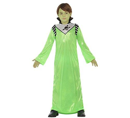 Atosa Disfraz de Alienígena Verde para niño
