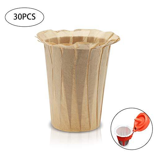 Papierfilter Cup Ersatz K-Cup mit Keurig K-Cup Kaffeemaschine Holz-kompatible Filter ()