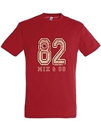 Supportershop T-Shirt Rouge 82 Mix and Co Enfant