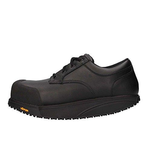 MBT Unisex-Erwachsene Omega Work Shoe Sicherheitsschuhe, Schwarz (Black), 42 EU