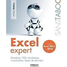 Excel expert: Fonctions, TCD, simulations, visualisation, bases de données - Couvre Excel 2013 et 2010