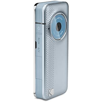 Kodak PlayFull ZE1 Full HD 1080P, Image Stabilisation with Built-in USB Arm - Blue/Silver