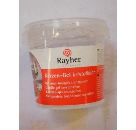 Rayher hobby rayher 3130000 cera gel per candele trasparente contenuto 300gr/ca. 365ml per la realizzazione candele decorative regali natale bricolage uso semplice