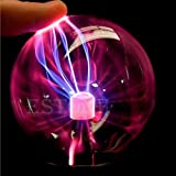 New Hot Magic USB Sphere Lightning Lamp Light Party Black Base Glass Plasma Ball available at Amazon for Rs.5691