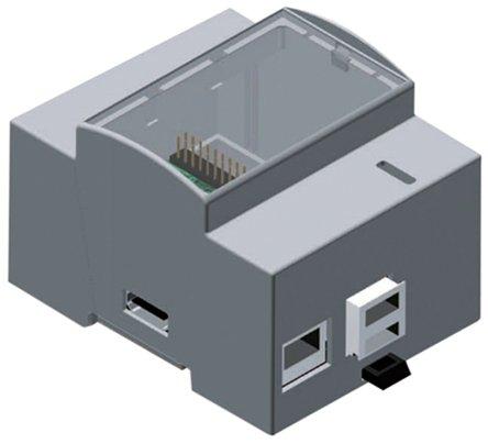 Boitier Rail Din pour carte Raspberry Pi version 1 modèle B