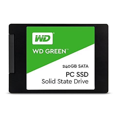 Western Digital WDS240G1G0A Disque Flash SSD interne 240 Go SATA