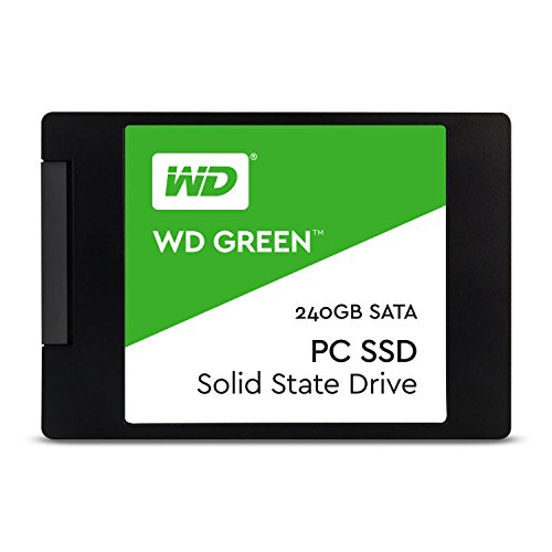 WD WDS240G1G0A 240GB Internal Solid State Drive (Green)