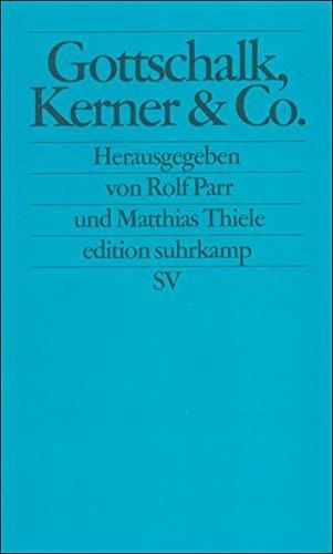 Gottschalk, Kerner & Co: Funktionen der Telefigur »Spielleiter« zwischen Exzeptionalität und Normalität (edition suhrkamp)
