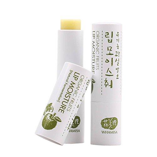 WHAMISA - Lippenpflege - Blüten- und Fruchtextrakte - Feuchtigkeitsspendend und pflegend - Lang anhaltend - Erfrischt und pflegt die Lippen - Vegan - 4 gr