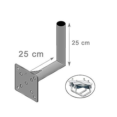 Support Mat Antenne - FIXATION BALCON et MURALE ANTENNE ET PARABOLE