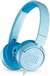 JBL JR300 Kinder-Kopfhörer - Kabelgebundene On-Ear Kopfhörer mit Lautstärkebegrenzung - Speziell entwickelt für Kinder Blau