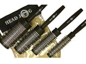 Head Jog Heat Retaining Quad Brush Set by Hair Tools