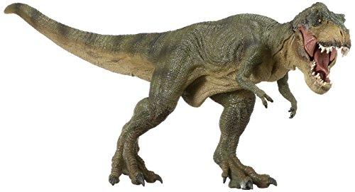 (Papo 55027 - Laufender T-Rex, Spielfigur, grün)