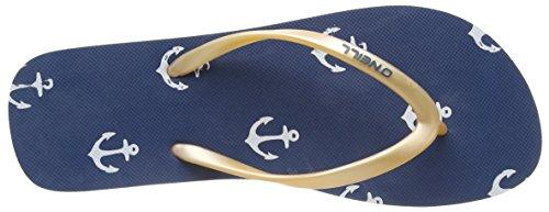 O'Neill Moya One Flip Flop, Plage et Piscine Femme Bleu (5900 Blue Aop)