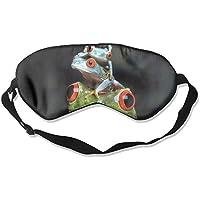 Eye Mask Eyeshade Frog Fun Sleeping Mask Blindfold Eyepatch Adjustable Head Strap preisvergleich bei billige-tabletten.eu