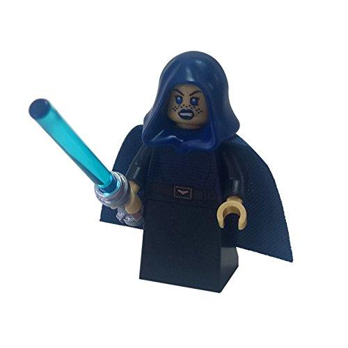 Lego minifigur Jedi Barriss Offee mit Waffen (Star Wars Lego-jedi Mit)