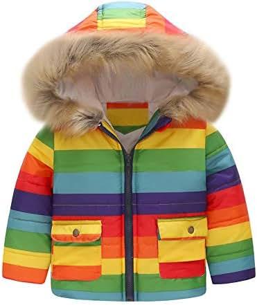 SHOBDW Girls Coats Baby Girls Autumn Winter Hooded Cloak Thick Warm Coat Jacket Infant Clothes