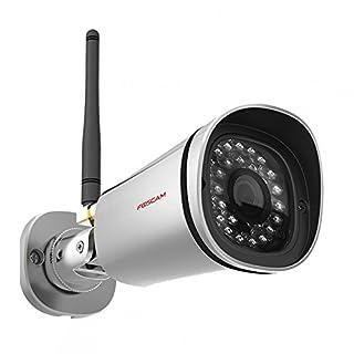 Foscam FI9800P - Cámara IP de vigilancia para Exterior, función p2p, 1 MP, 720p, WiFi, h264, Seguridad para el hogar (B014UYWCDO) | Amazon price tracker / tracking, Amazon price history charts, Amazon price watches, Amazon price drop alerts