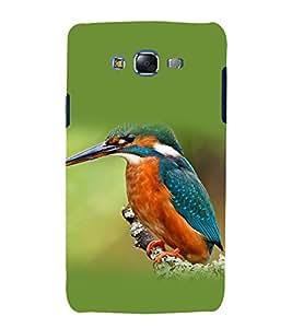printtech Nature Bird Kingfisher Back Case Cover for Samsung Galaxy J1 / Samsung Galaxy J1 J100F