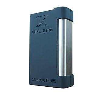 Silikon hülle, Abdeckung für Smok X Cube Ultra - beste Qualität, beste Farben, authentische VampCase - Schwarz