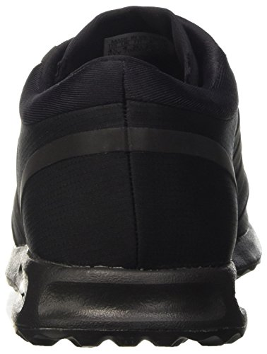 adidas Los Angeles J, Scarpe da Corsa Unisex – Bambini Nero (Cblack/Cblack/Clonix)