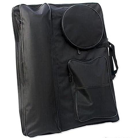 LongTN 4k Schwarz Tragbare Malerei Board Bag Tragen Fall Zeichnung Staffelei Tasche Wasserdichte Board Tragen Sketchpad Tasche Rucksack Tasche Reisen Kunst Set