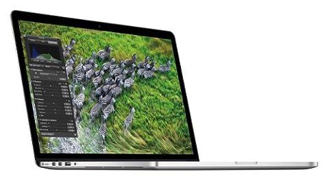 Apple MacBook Pro Retina Display MC975D/A 39,1 cm (15,4 Zoll) Notebook (Intel Core i7 3615QM, 2,3GHz, 8GB RAM, 256GB Flashspeicher, NVIDIA GT 650M, Mac