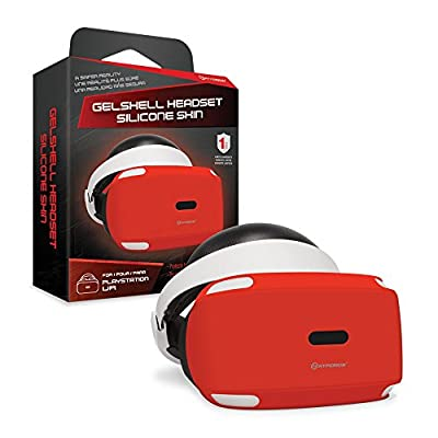 Hyperkin GelShell Headset Silicone Skin for PS VR (Red) from Hyperkin