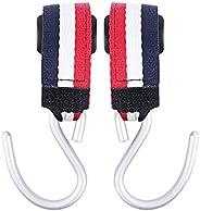 Stroller Hooks 2 Pcs Multi Purpose Hooks er Stroller Clips for Mommy Stroller Accessories for Diaper Bags Hand