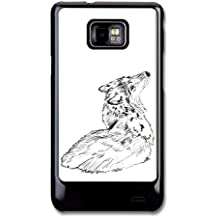 Wolf Sketch Original Art Illustration coque pour Samsung Galaxy S2 T240