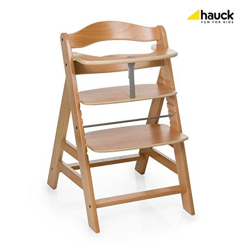 Hauck 661079 Hochstuhl Alpha +, natur -