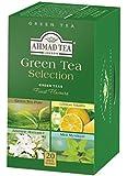 "English Teas, ""Green Tea Selection"" - Tagged and Aluminium Foil Enveloped Teabag Assortment in Printed Carton - 397"