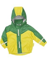 Playshoes - Abrigo de piel con capucha de manga larga para niño