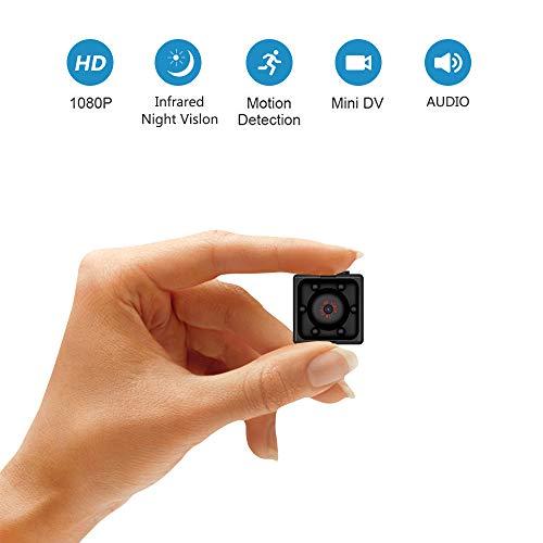 DESCRIPCIÓN DEL PRODUCTO Nuestra cámara espía inalámbrica (del tamaño del pulgar) es la mas pequeña del mercado con una resolución de 1080P y una lente gran angular de 75º, 6 leds IR que permiten capturar imágenes nítidas y claras más grandes que ...
