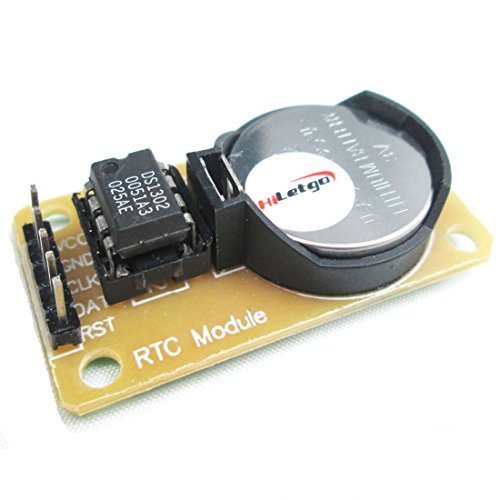 HiLetgo DS1302 Real Time Clock Module With CR2032 Battery Test