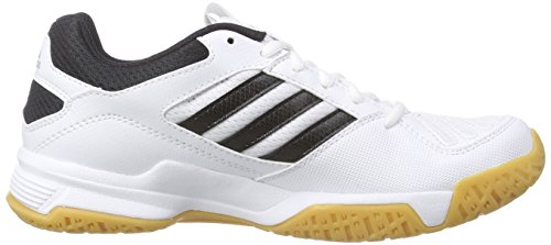 adidas  BT Boom, Chaussures Multisport Indoor adulte mixte Blanc - Weiß (RUNWHT/BLACK1/METSIL)