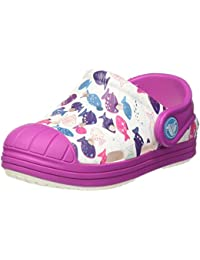 Crocs Bump It Graphic Clog K Whi/Vivlt, Sabots Mixte Enfant