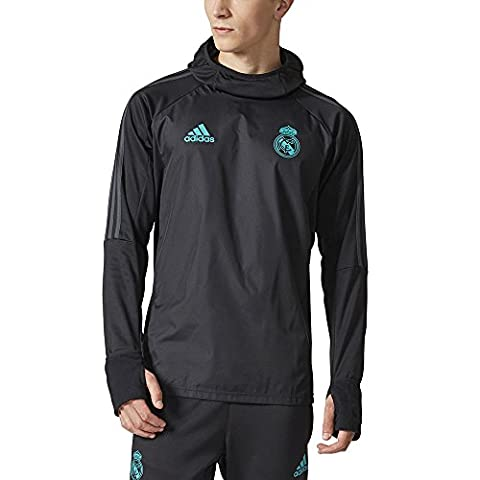 Adidas Real Madrid Warm, Sweat pour homme L Nero (Nero/Gripur)