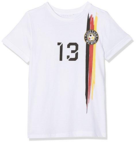 ESPRIT KIDS Jungen RL1034603 T-Shirt, Weiß (White 010), 140 (Herstellergröße: S)