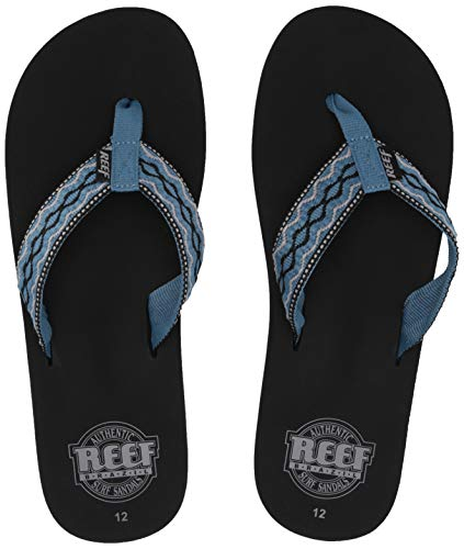 Reef Herren Smoothy Zehentrenner, Blau (Vintage Blue Vbl), 40 EU