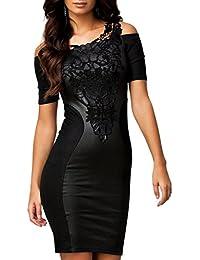 size 40 5098c 29d2d Donna Tubino Nero - ABILIO: Abbigliamento - Amazon.it