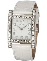 Guess Damen-Armbanduhr Analog Quarz Leder W0129L1