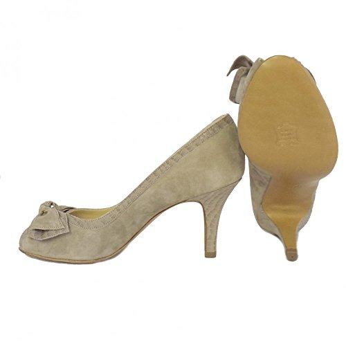 Chaussures Peter Kaiser Sylve Peep Toe Ladies En Taupe Musti TAUPE MUSTI