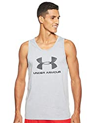 sportliches Muskelshirt aus superweichem Stoff /ärmelloses Sportshirt mit loser Passform Under Armour Sportstyle Tanktop mit Logo
