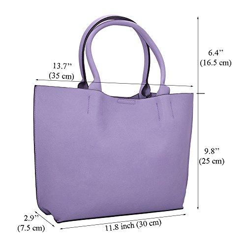 ... LeahWard Damenmode Desinger Qualität Shopper Bag Taschen Damen modisch  meistverkauft Handtaschen Groß Größe Tasche CWS00297 Schwarz ...